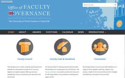 Portfolio: Faculty Governance