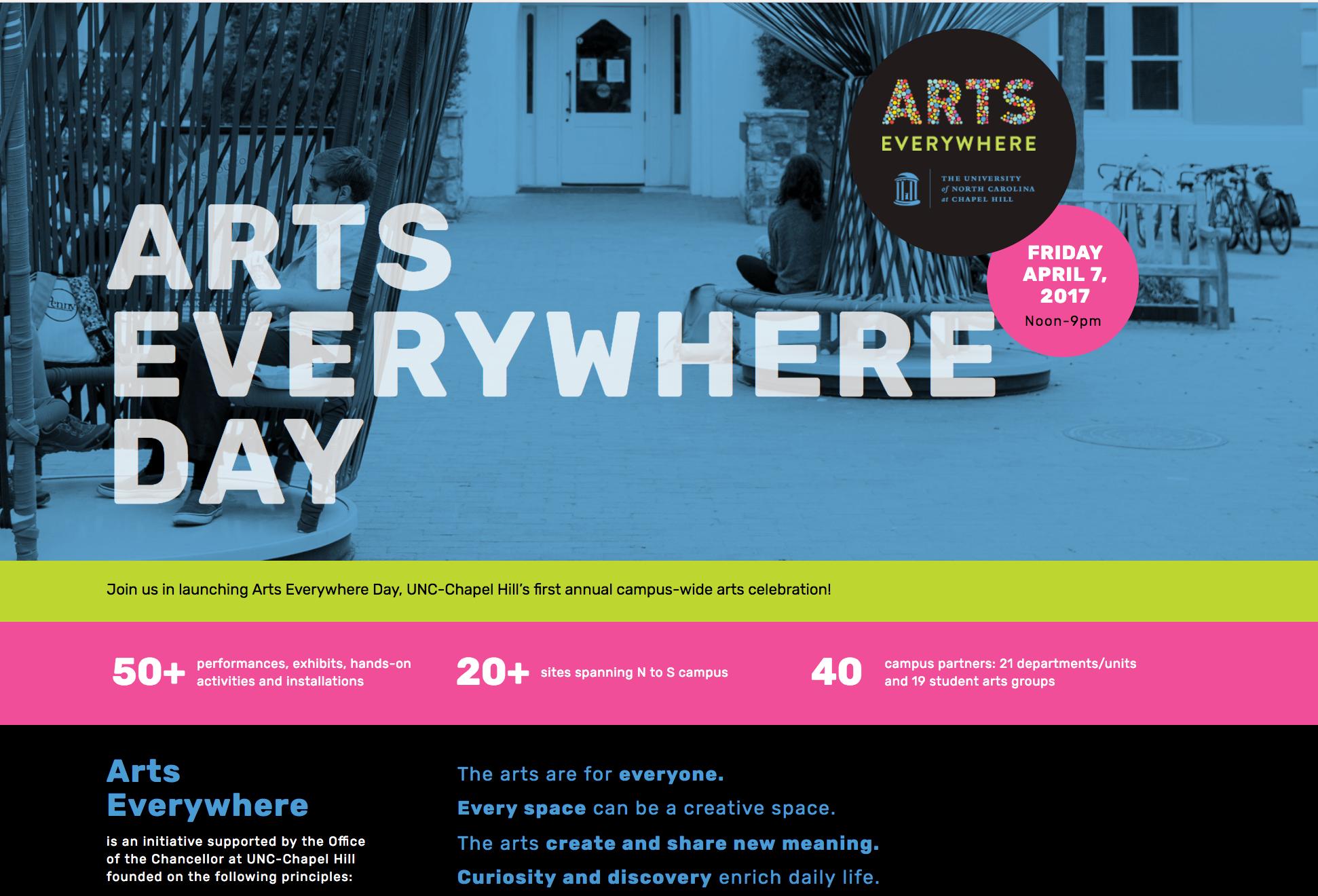Portfolio: Arts Everywhere