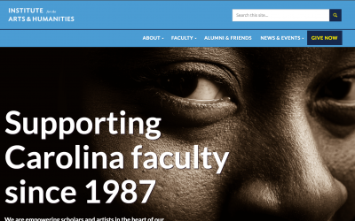 Portfolio: Institute for the Arts and Humanities