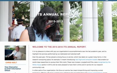 Portfolio: ITS Annual Report