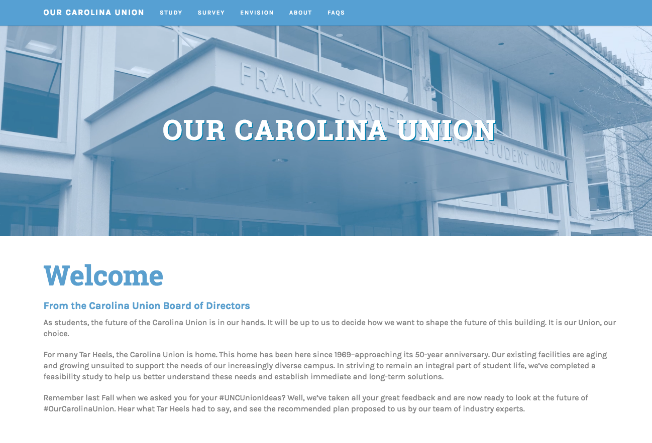 Our Carolina Union