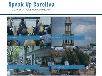 Speak Up Carolina home page
