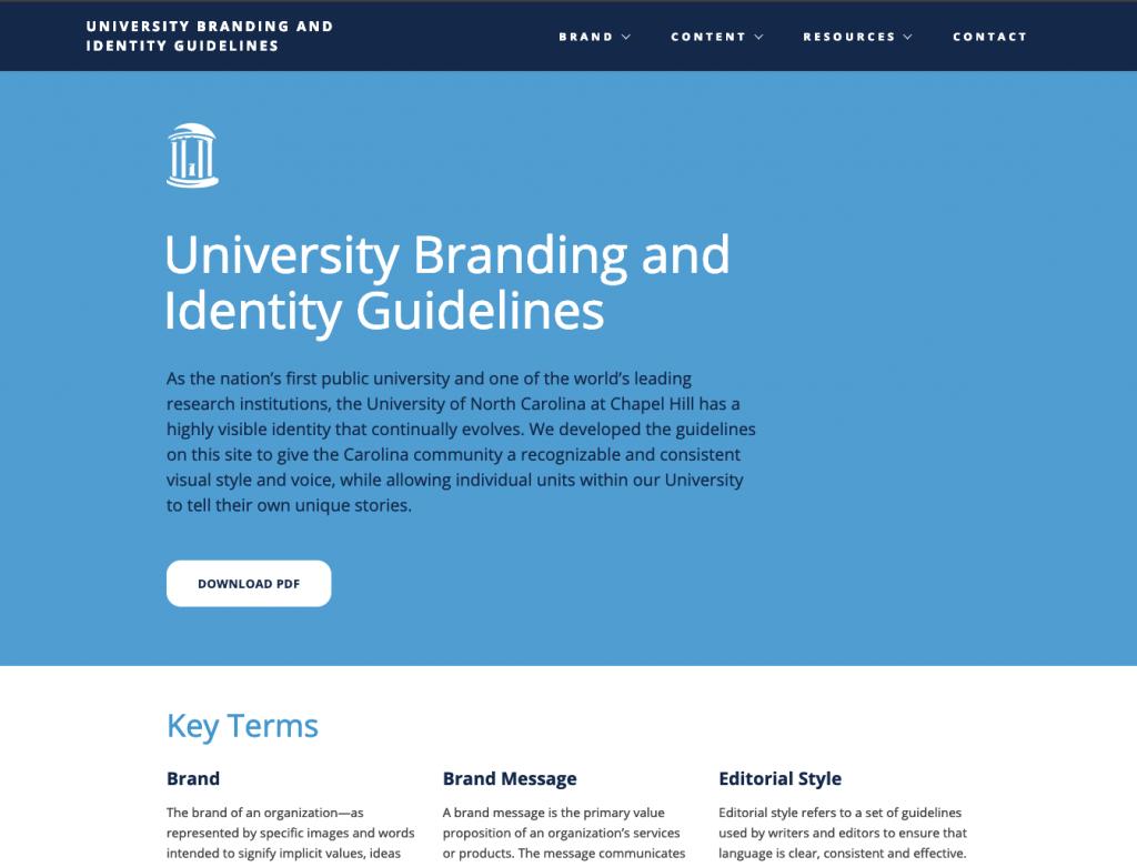 Identity Website