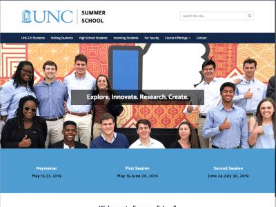 summer school homepage