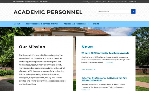 Academic Personnel