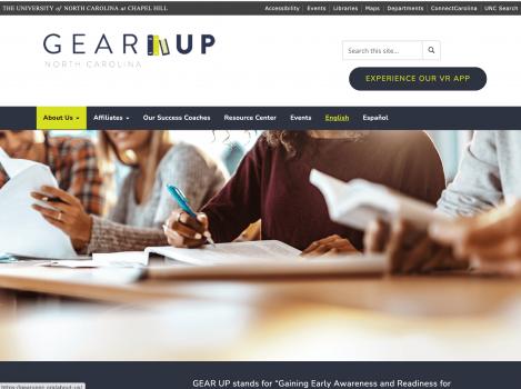 Gear Up NC Website